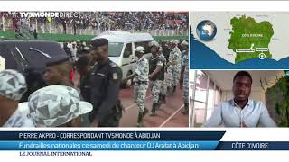 DJ Arafat : sa tombe et son cercueil ouverts par des fans après son enterrement à Abidjan