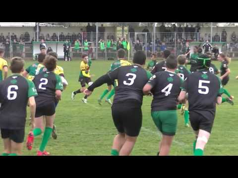 Replay Rugby Cadets  RCHCC vs US Mourillon Match Championnat Live TV Sports 2016/2017