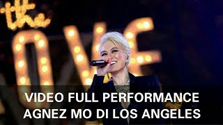 Video Full Agnez Mo tampil di Los Angeles (The Grove)