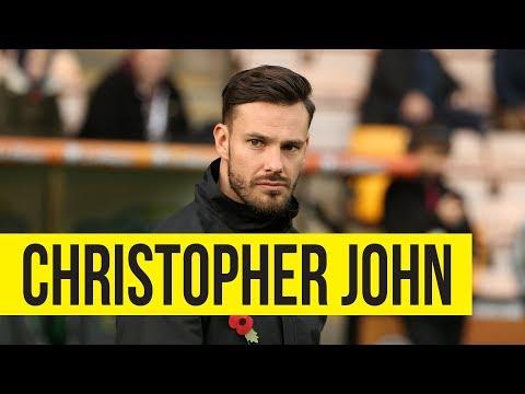 Welcome, Christopher John