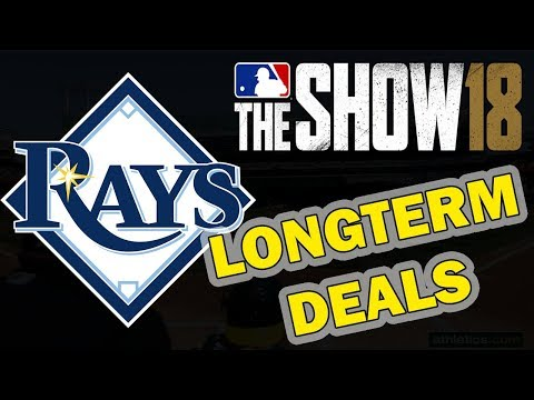 LONG TERM DEALS | TAMPA BAY RAYS FRANCHISE EPISODE 18 | MLB 18 FRANCHISE