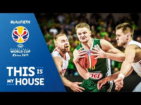 Lithuania v Poland - Full Game - FIBA Basketball World Cup 2019 - European Qualifiers