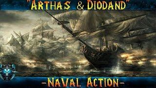 Naval Action Arthas и Diodand Как начать играть