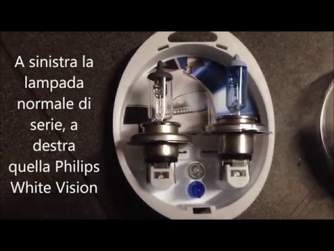 Test lampade Philips White Vision