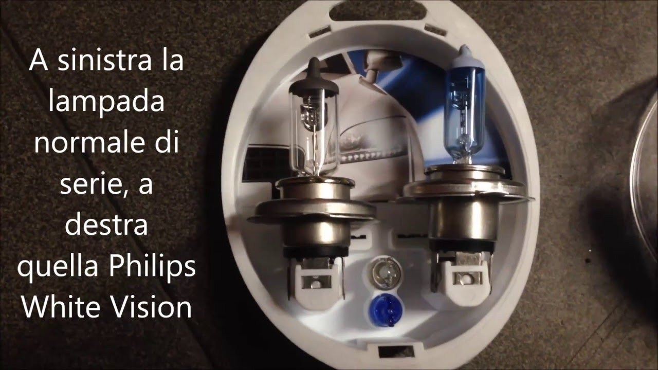 Test Lampade Philips White Vision Youtube