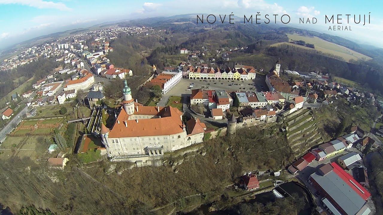 Nové Město Nad Metují Aerial 2014 Youtube