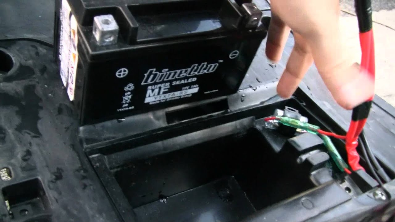 How To Charge A Scooter Battery Yamaha Vino 125 Tender Jr 1999 Zuma Wiring Diagram Hd Youtube