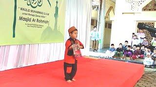 Fashion show busana muslim anak kecil