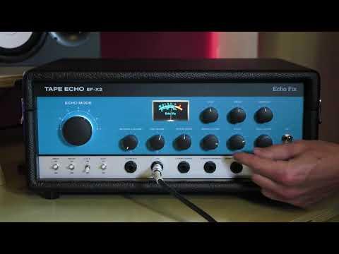 Echo Fix Tape Echo EF-X2 Demo with Juno 6.