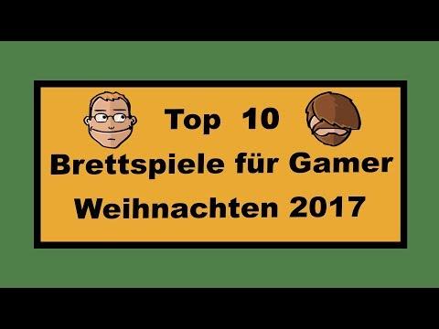 Top 10 Spiele für Gamer Weihnachten 2017 - Geschenktipps