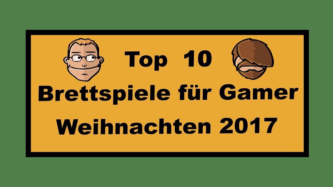Top 10 Spiele für Gamer Weihnachten 2017 - Geschenktipps - YouTube