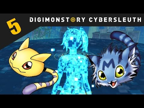 Digimon Story: Cyber Sleuth PS4 / PS Vita Let's Play Walkthrough Part 5 - Restoring My Avatar