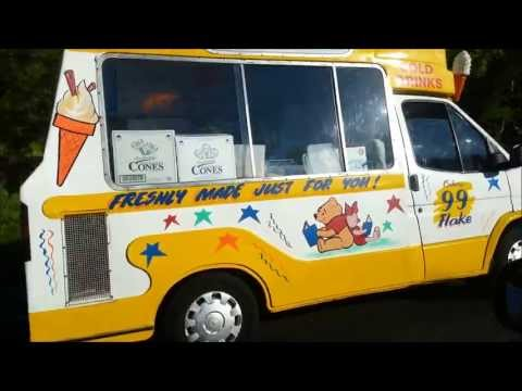Cornish Ice Cream Van - Cornwall, Soft Cornish Ice Creams