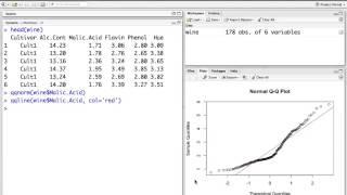 Erstellen von QQ-Plots in RStudio