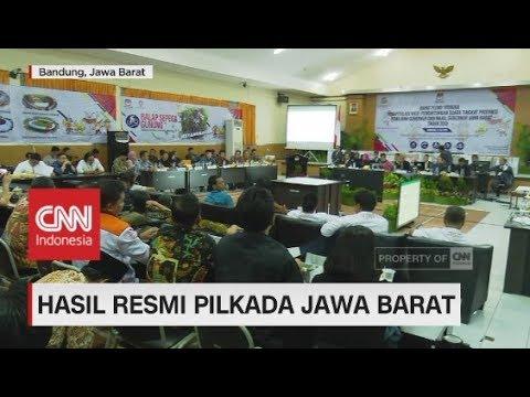 """Hasil Resmi Pilkada Jawa Barat, Pasangan """"RINDU"""" Menang"""