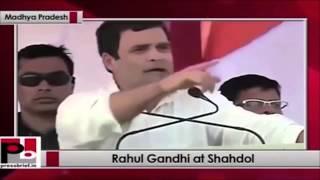 Rahul Gandhi Funny Speech (This Morning I Got Up At Night)