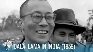 Dalai Lama In India (1959) | British Pathé