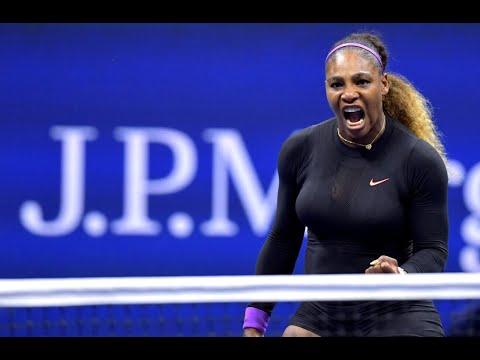 Serena Williams vs. Qiang Wang   US Open 2019 Quarter-Finals Highlights