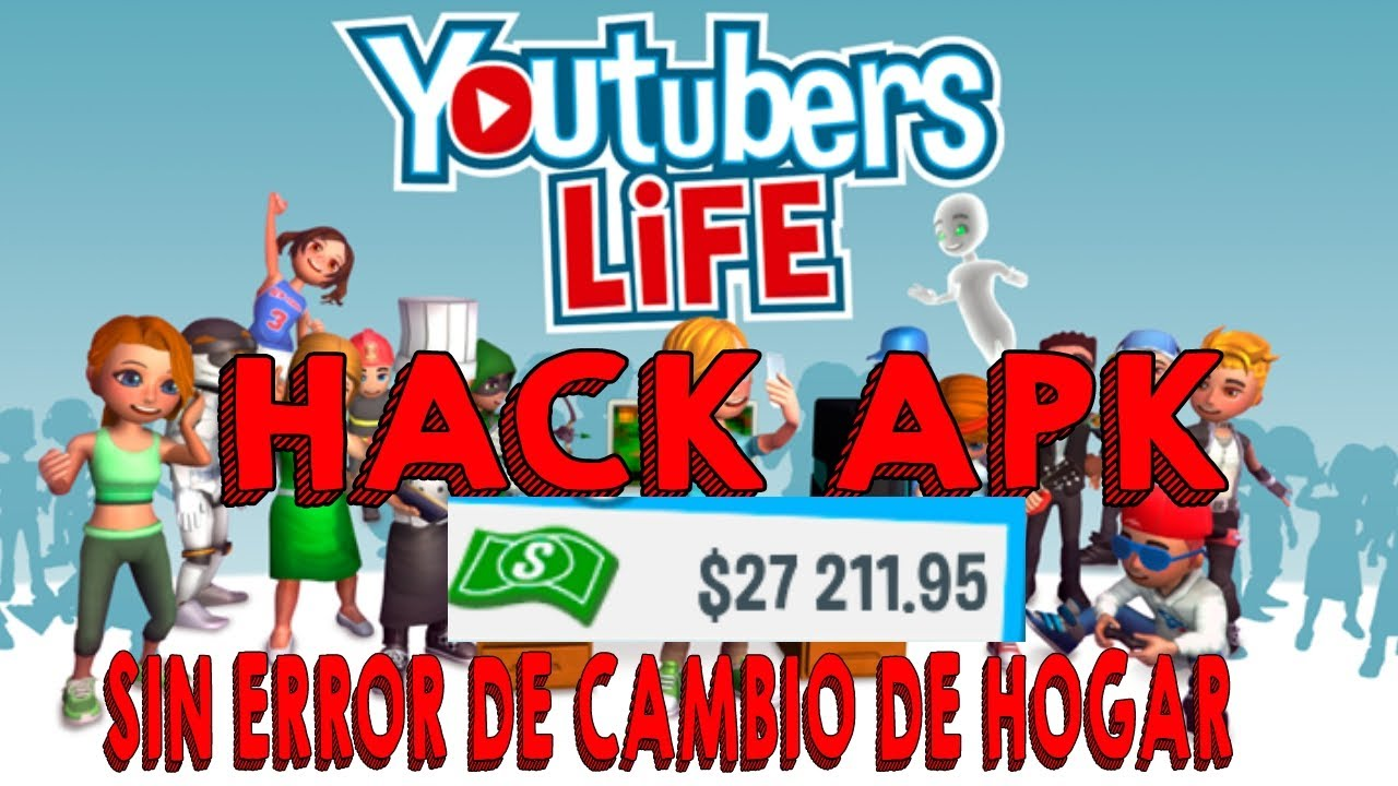 Hack youtubers life [apk] sin error de hogar 2019| M ...