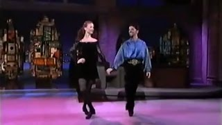 Riverdance first appearance on US network TV - The Late Show with David Letterman.