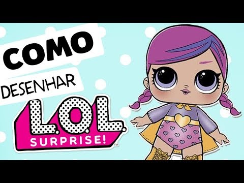 TUTORIAL: Como Desenhar A LOL SUPER B.B ! How To Draw LOL SUPER B.a  !