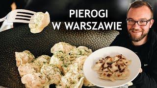 Najlepsze PIEROGI W WARSZAWIE? Domowa kuchnia ukraińska - sprawdzam! | GASTRO VLOG #230