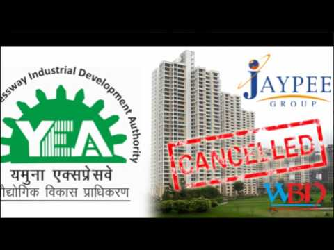new delhi city ncr jaypee builder announced as bankrupt