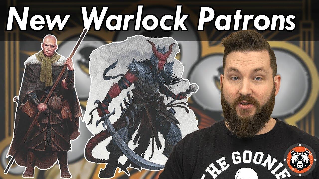 Warlocks Dragons: New Warlock Patrons Xanathar's Guide