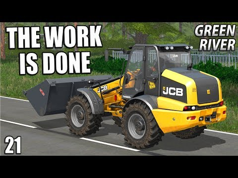 THE WORK IS DONE | Farming Simulator 17 | GreenRiver - Episode 21