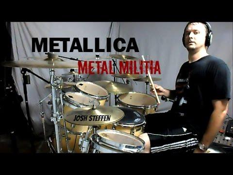 METALLICA - Metal Militia (mobile link in description) - Drum Cover