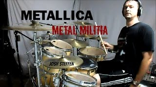 METALLICA - Metal Militia (mobile link in description) - Drum Cover