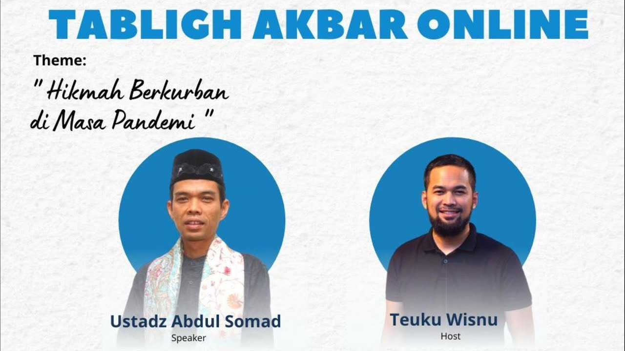"LIVE STREAMING - "" Tabligh Akbar Online bersama Human Aid Initiative "" Live - Pekanbaru"