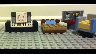 Easy Guide To Building Lego Furniture - Part 1 (bedrooms)
