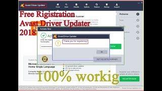 advanced driver updater registration key free