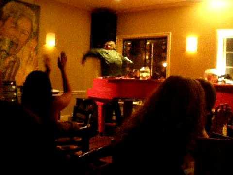 Dueling Pianos Troy Neihardt plays Great Balls of Fire at the Swingin Door, San mateo, CA