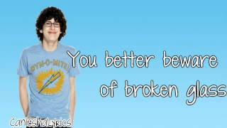 Matt Bennett - Broken Glass (Lyrics Video) HD