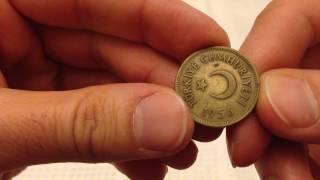 6 Eski Para (Delikli Para,  Saban Kılıçtan Üstündür, 10 Para, 25 ve 5 Kuruş, FAO)