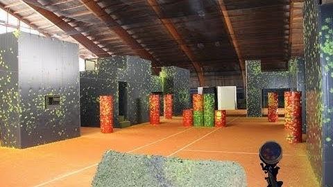 Paintball in  Mamishaus (Bern) / Paintball Arena / GoPro 3