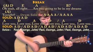 Golden Slumbers/Carry That Weight/The End (The Beatles) Guitar Cover Lesson with Chords/Lyrics