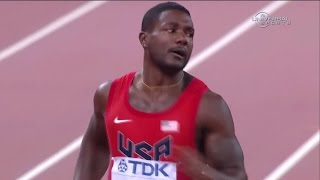 Justin Gatlin 200m Semi at 2015 Champs - Universal Sports