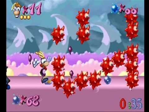 Rayman Designer Red Instantaneous Death