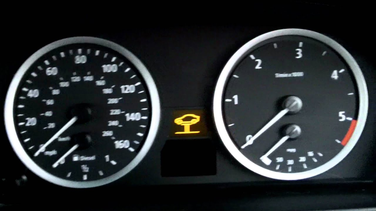 Bmw E60 2005 525d Transmission Warning On First Start