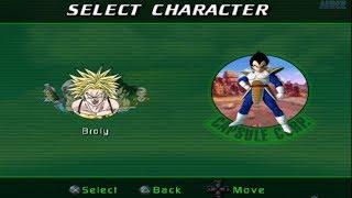 Dragon Ball Z: Sagas All Characters [PS2]