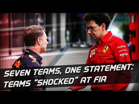 "Teams ""Shocked"" At FIA Statement On Ferrari Power Unit"