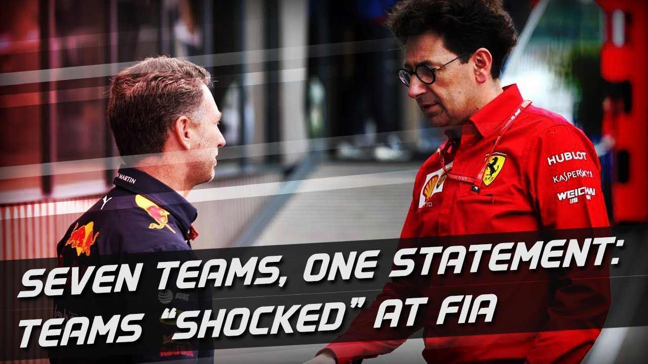 "Teams ""Shocked"" At FIA Statement On Ferrari Power Unit"