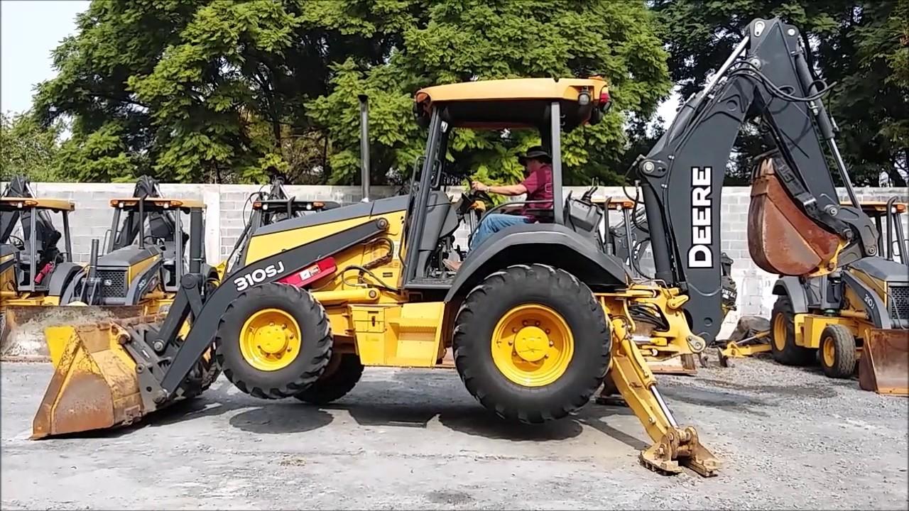 2010 retroexcavadora john deere 310sj 4x4 serie