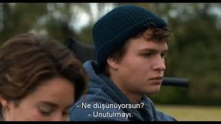 Aynı yıldızın altında (The Fault in Our Stars)  filminden sahne. Türkçe altyazılı