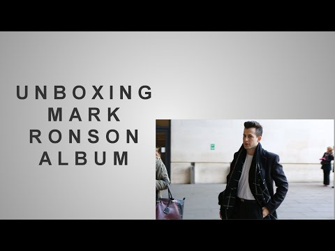Unboxing Mark Ronson's Uptown Special