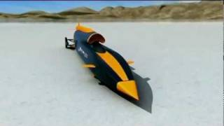 Blan Jaund el coche más rapido del mundo 1.690 km/h