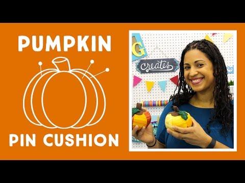 Pumpkin Pin Cushion: Easy Craft Tutorial with Vanessa of Crafty Gemini Creates